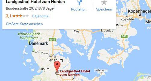 Übernachtung vor der Grenze Dänemark