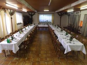 Saal im Landgasthof Hotel zum Norden