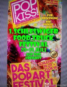 PopKiss Schleswiger food truck Festival